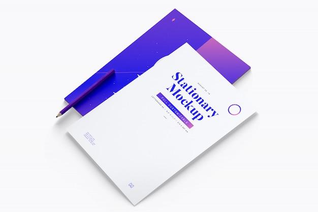Makieta papieru firmowego