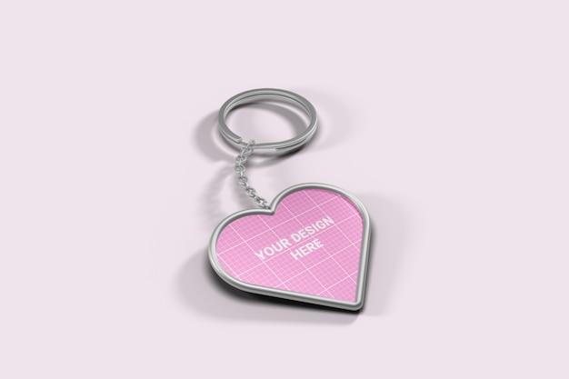 Makieta pęku kluczy w kształcie serca