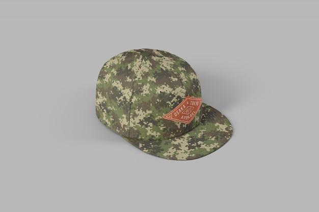 Makieta pełnej czapki snapback