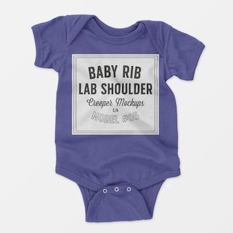 Makieta pełzacza na ramionach dla niemowlaka
