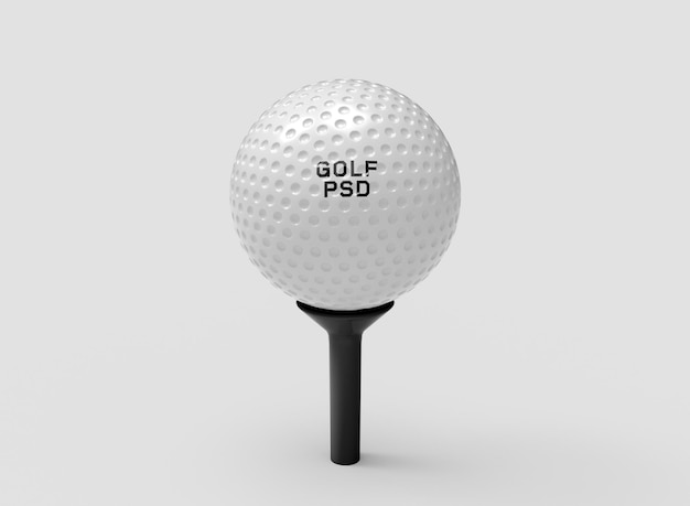 Makieta piłki golfowej