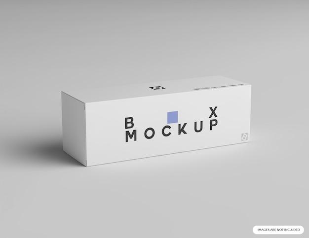 Makieta pionowego pudełka