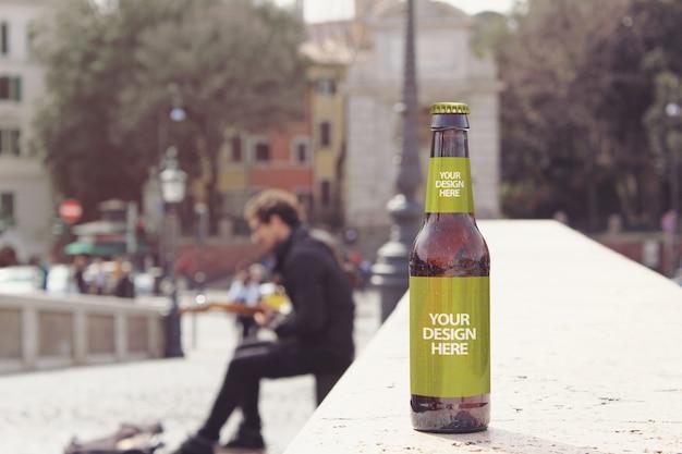 Makieta piwa bridge artysty
