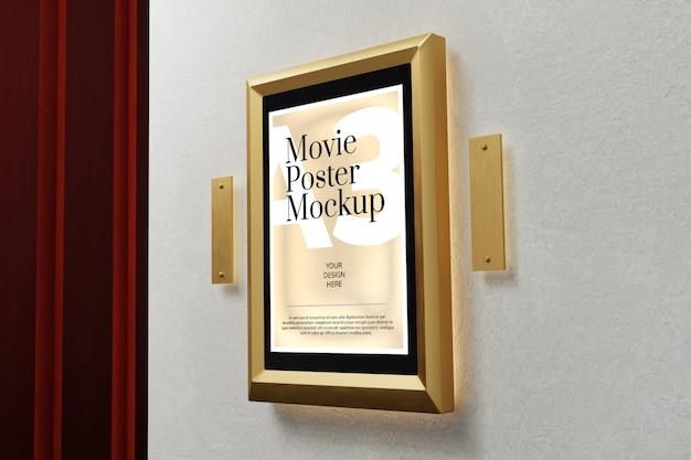 Makieta plakatu filmowego