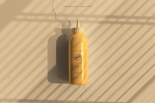 Makieta plastikowej butelki do wyciskania