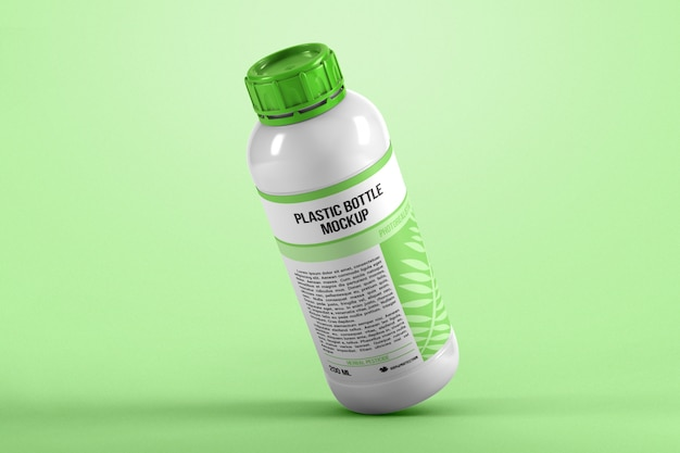 Makieta plastikowej butelki grawitacyjnej