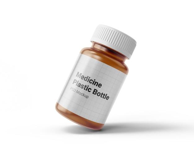 Makieta plastikowej butelki leku