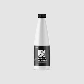 Makieta plastikowej butelki mleka