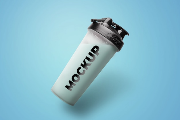 Makieta plastikowej butelki na wodę