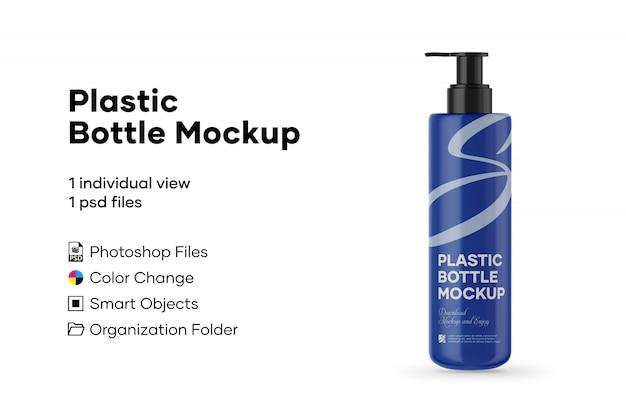 Makieta plastikowej butelki