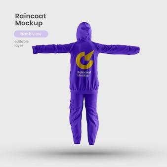 Makieta płaszcza przeciwdeszczowego pemium na porę deszczową