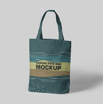 Makieta płóciennej torby na ramię