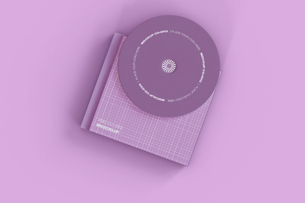 Makieta płyty cd i obudowy