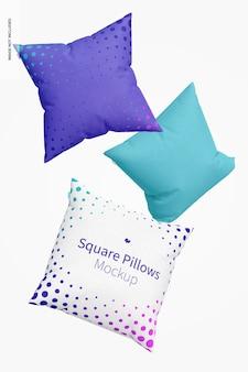 Makieta poduszek kwadratowych, pływająca