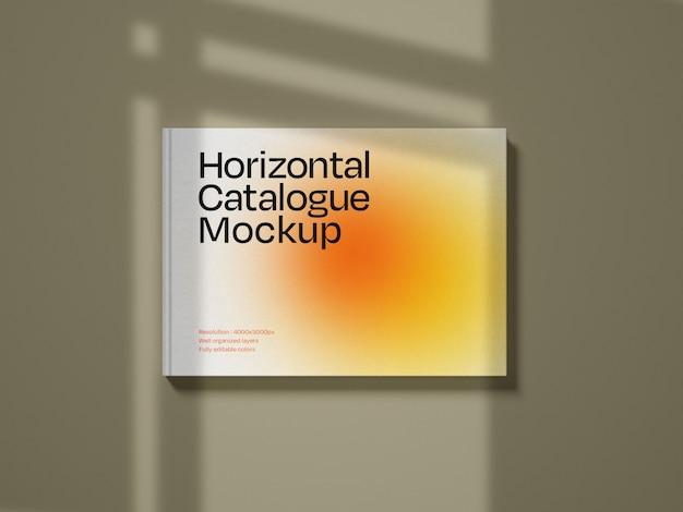 Makieta poziomej okładki katalogu