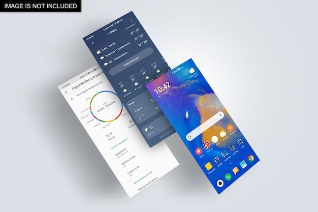Makieta prezentacji ekranu aplikacji