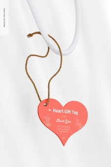Makieta prezentów w kształcie serca, wisząca