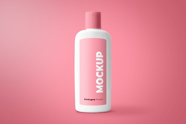 Makieta produktu butelki