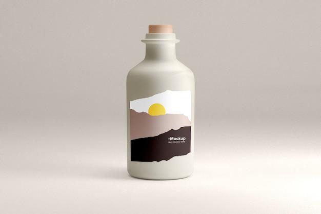 Makieta produktu butelkowego