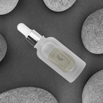 Makieta produktu kosmetycznego do pielęgnacji urody