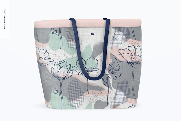 Makieta projektanta torby na zakupy, widok z przodu