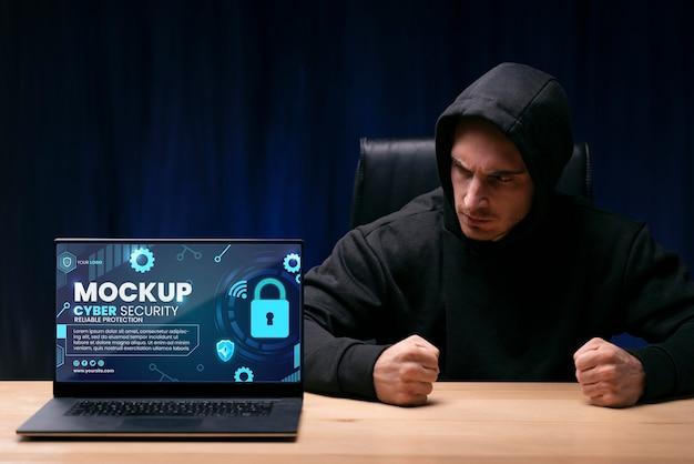 Makieta projektu bezpieczeństwa cybernetycznego