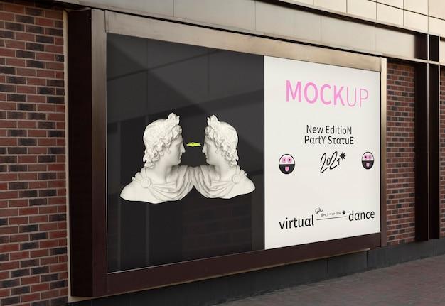 Makieta projektu billboardów miejskich