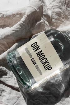 Makieta projektu etykietowania ginu
