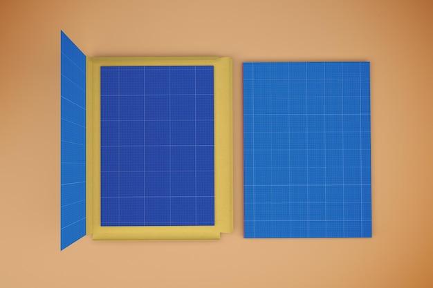Makieta projektu folderu