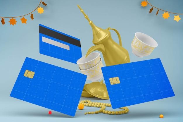 Makieta projektu karty kredytowej eid