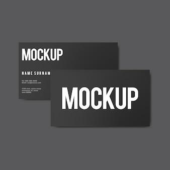 Makieta proste wizytówki