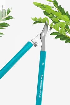Makieta przycinania drzew, widok perspektywiczny