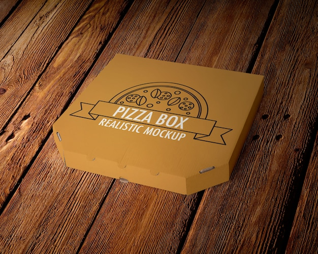 Makieta pudełka do pizzy