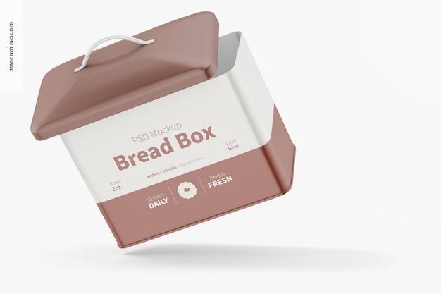 Makieta pudełka na chleb, pływająca