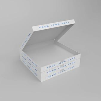 Makieta pudełka po pizzy 3d