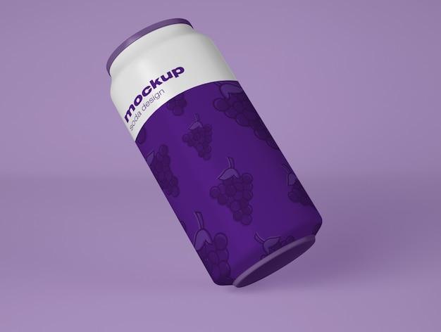 Makieta puszki z napojem