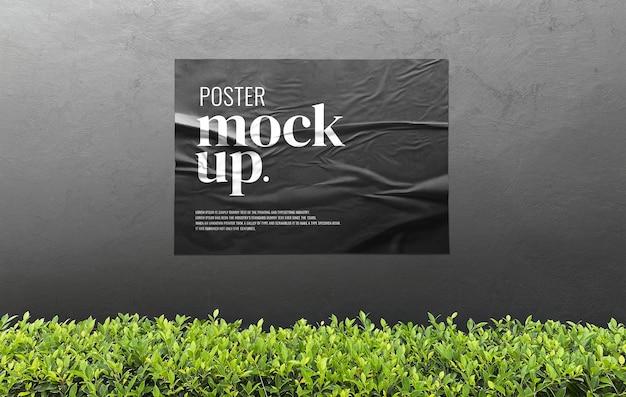 Makieta reklamowa plakatu zewnętrznego