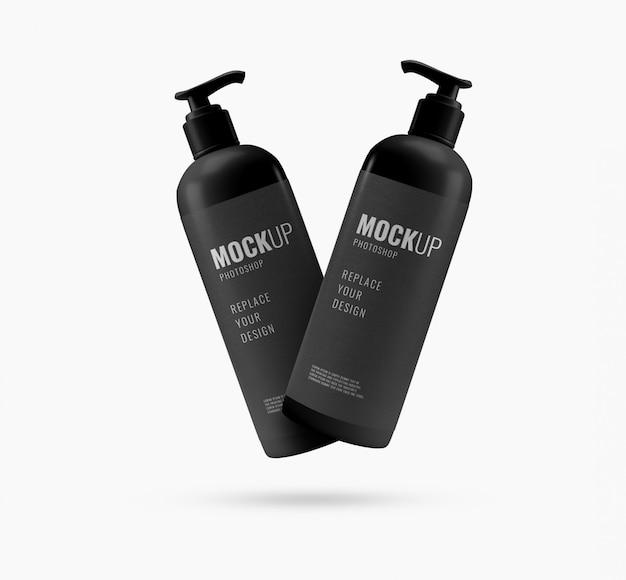 Makieta reklamowa pompy do butelek