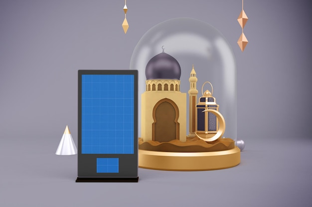 Makieta Reklamowa Ramadan Premium Psd