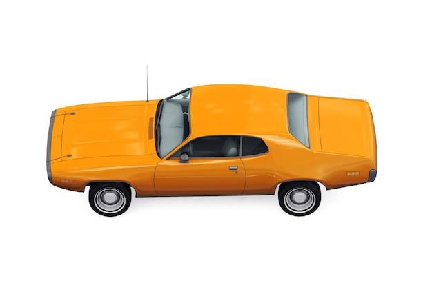 Makieta retro coupe z 1971 roku
