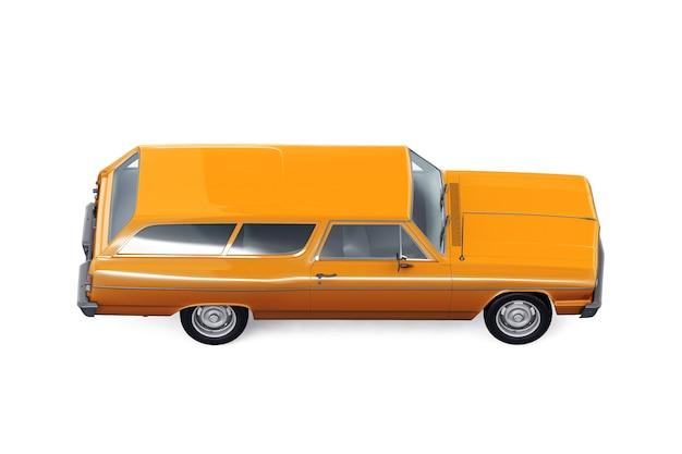 Makieta retro kombi samochodu 1964