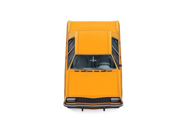 Makieta rocznika samochodu sedan