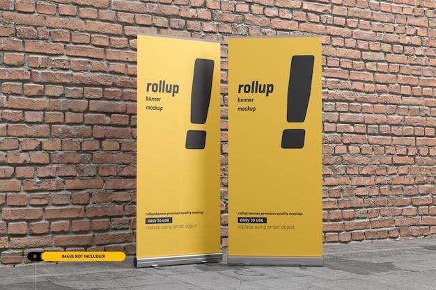 Makieta roll-up lub x-banner