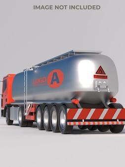 Makieta samochodu do transportu gazu
