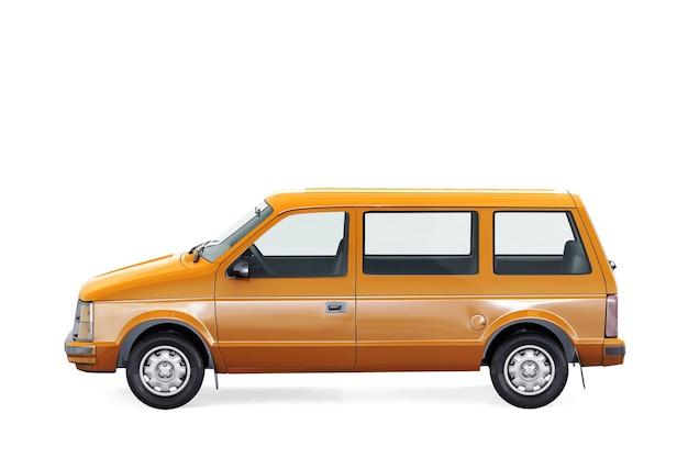 Makieta samochodu dostawczego z 1984 roku