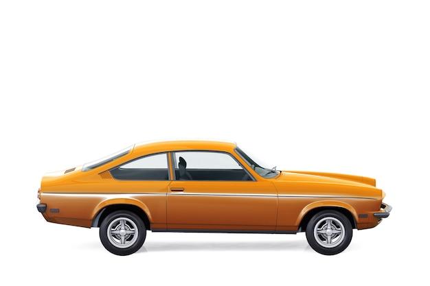 Makieta samochodu hatchback 1971