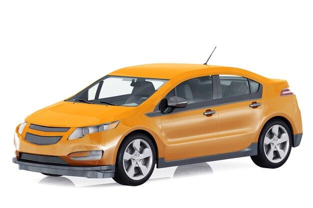 Makieta samochodu hatchback 2011