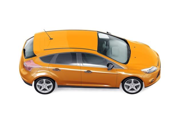 Makieta samochodu hatchback 2012