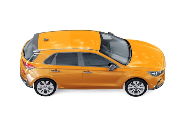 Makieta samochodu hatchback 2019