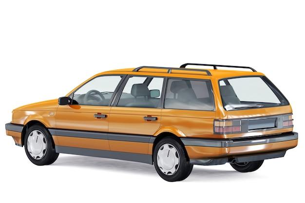 Makieta samochodu kombi z 1987 roku